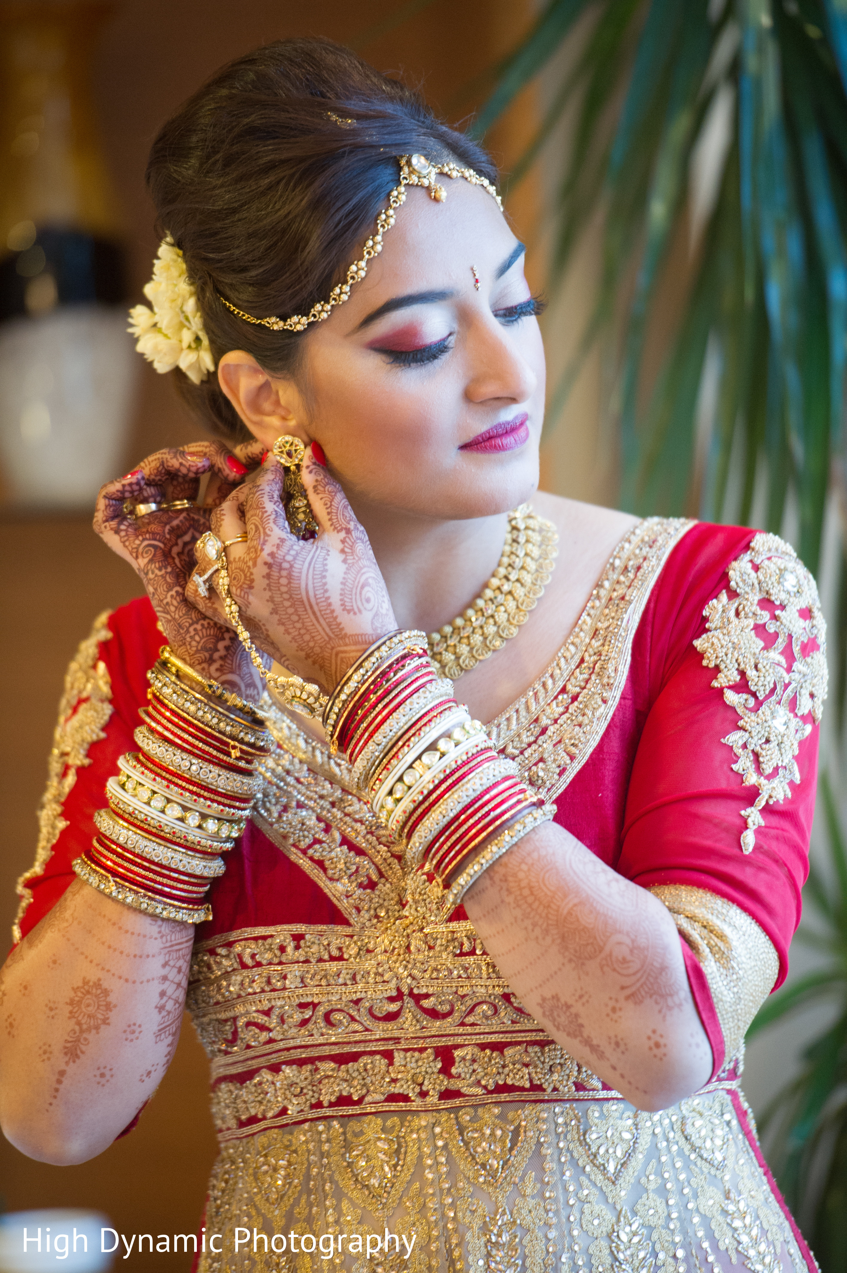 Inspiration Gallery – Indian Weddings Gold bridal set