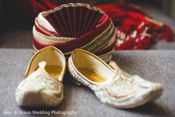 Groom Fashion in Detroit, MI Indian Fusion Wedding by Rosy & Shaun Wedding Photographers