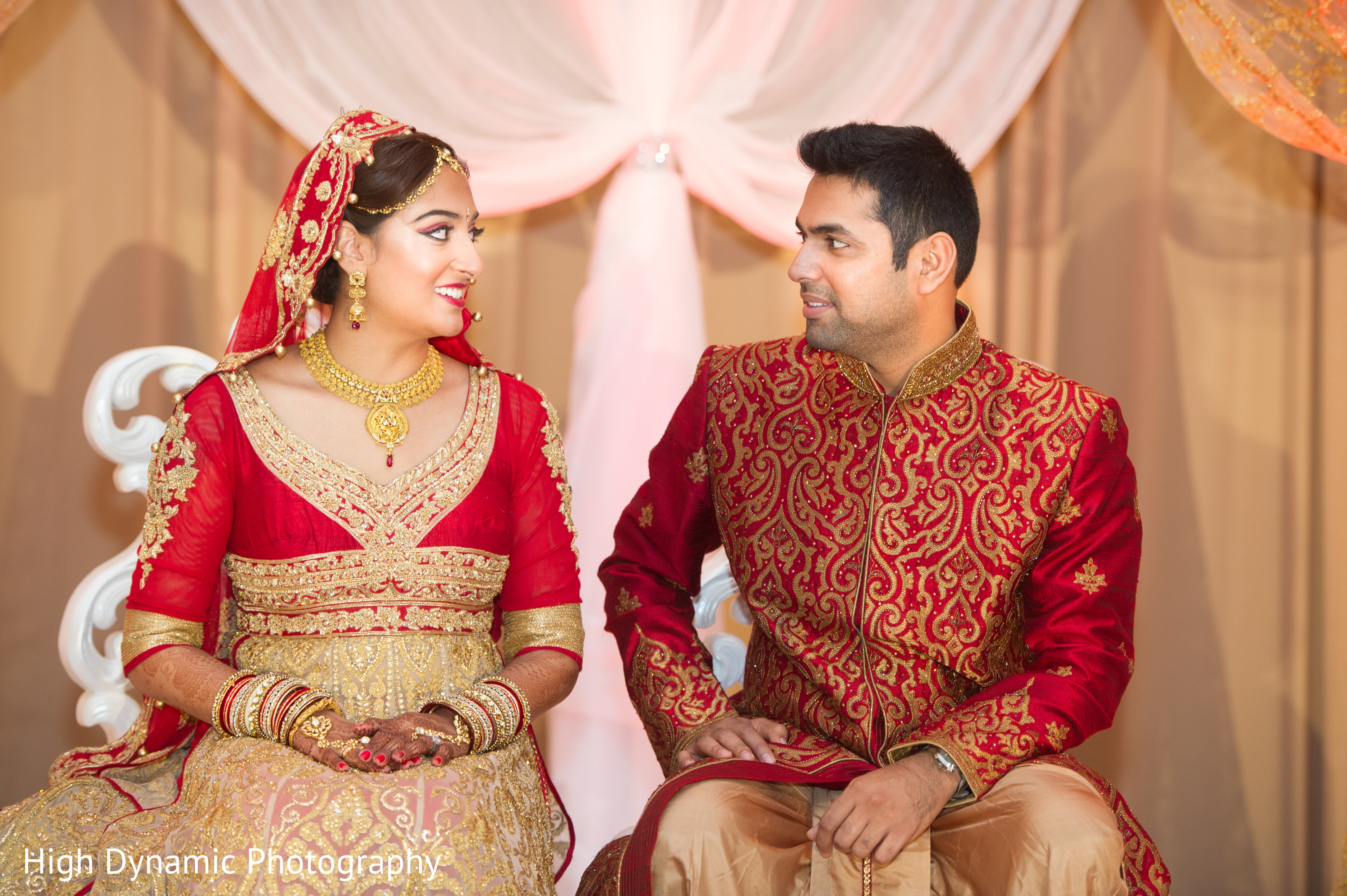 Ceremony in schaumburg il south asian wedding by high for Indian jewelry in schaumburg il