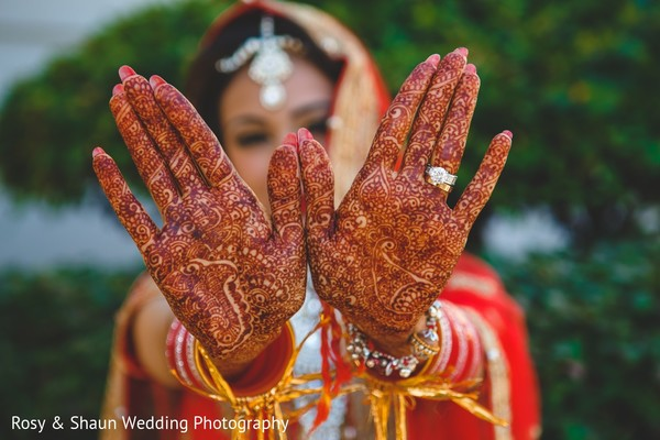Mehndi in Detroit, MI Indian Fusion Wedding by Rosy & Shaun Wedding Photographers