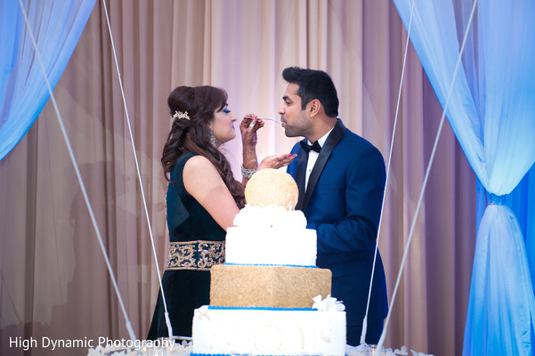Reception in Schaumburg, IL South Asian Wedding by High Dynamic Photography