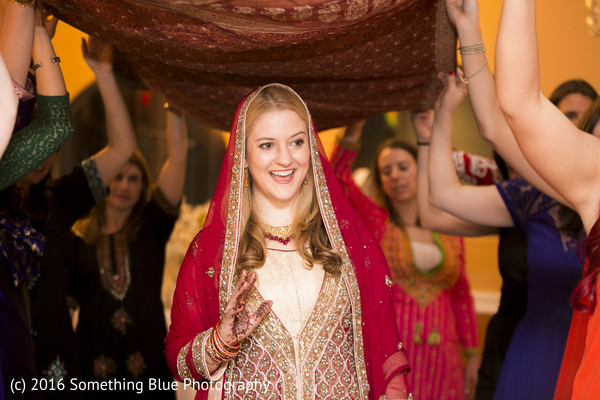 Mehndi party in Jersey City, NJ Pakistani Fusion Wedding by Something Blue Photography