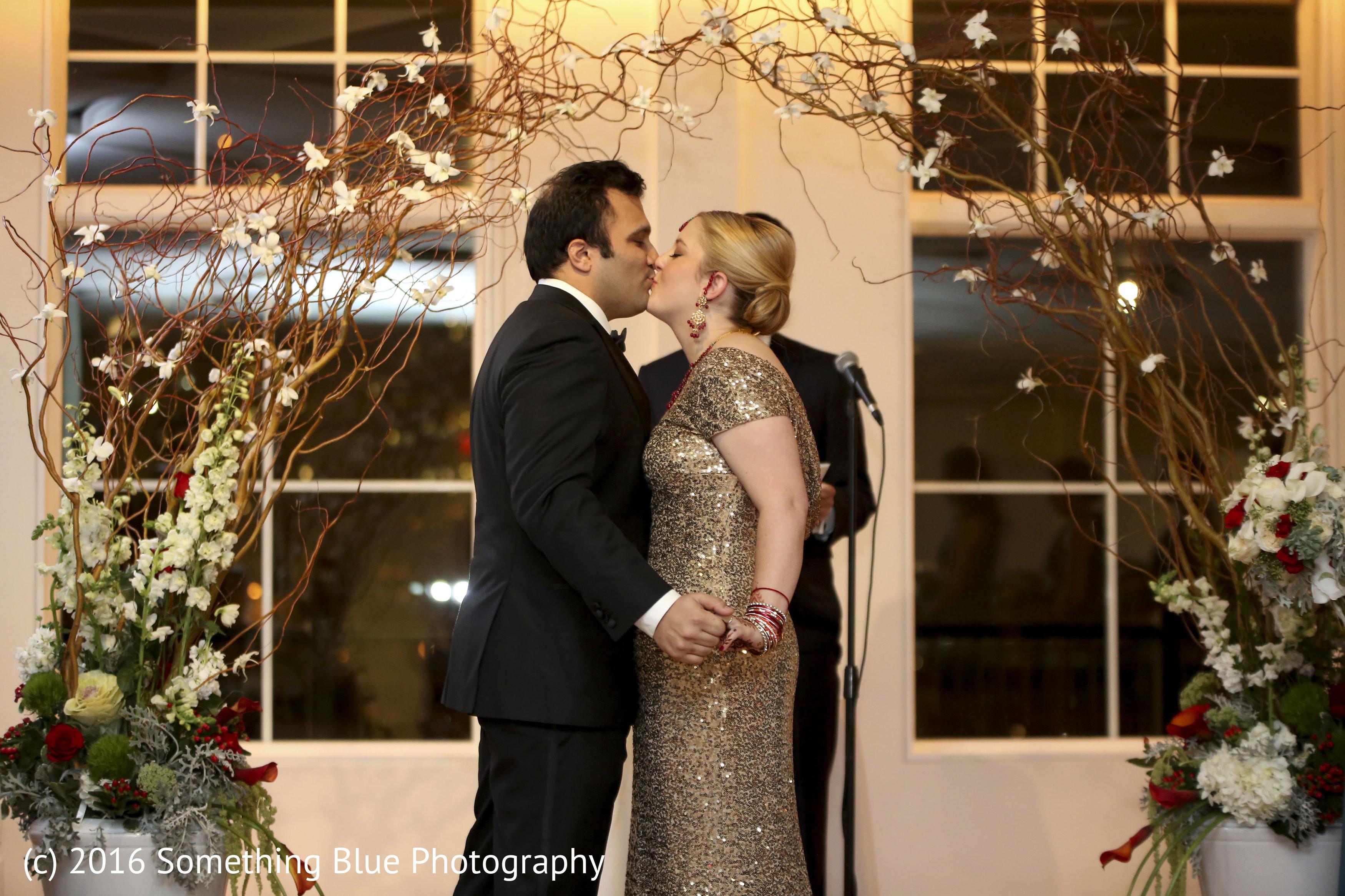 22460e76c4 Jersey City, NJ Pakistani Fusion Wedding by Something Blue Photography