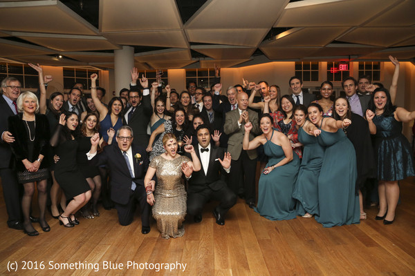 Reception in Jersey City, NJ Pakistani Fusion Wedding by Something Blue Photography