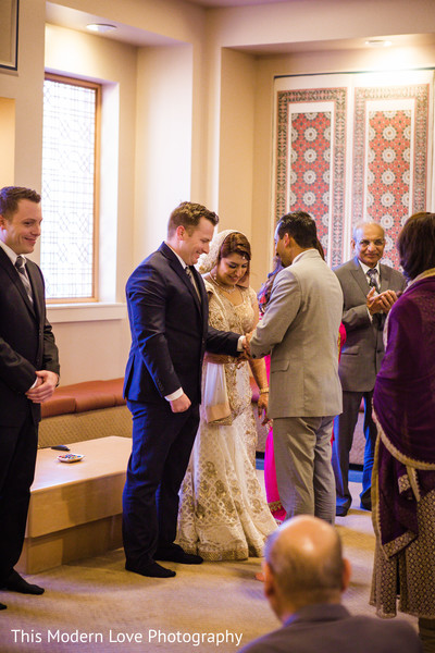 Fusion ceremony in Atlanta, GA Indian Fusion Wedding by This Modern Love Photography