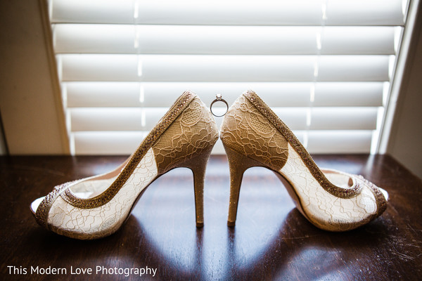 Heels in Atlanta, GA Indian Fusion Wedding by This Modern Love Photography