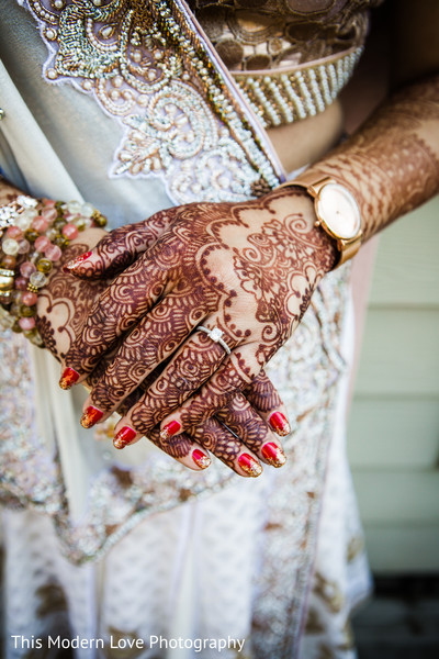 Mehndi hands in Atlanta, GA Indian Fusion Wedding by This Modern Love Photography