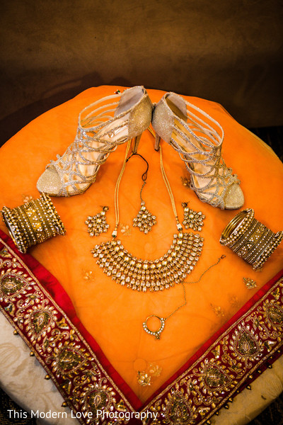 Bridal accessories in Atlanta, GA Indian Fusion Wedding by This Modern Love Photography