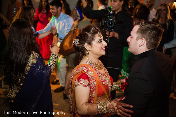Reception in Atlanta, GA Indian Fusion Wedding by This Modern Love Photography
