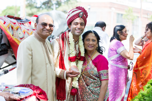 Baraat in Cambridge, MA Indian Wedding by The Wedding Story