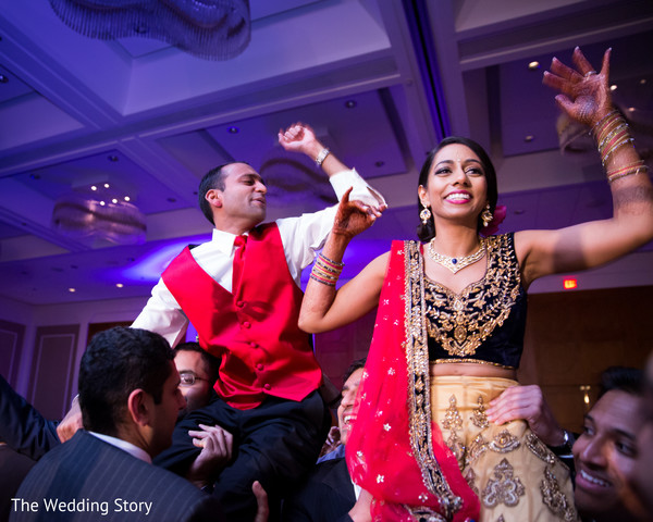 Reception in Cambridge, MA Indian Wedding by The Wedding Story