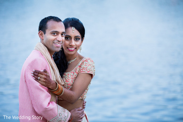 Sangeet portraits in Cambridge, MA Indian Wedding by The Wedding Story