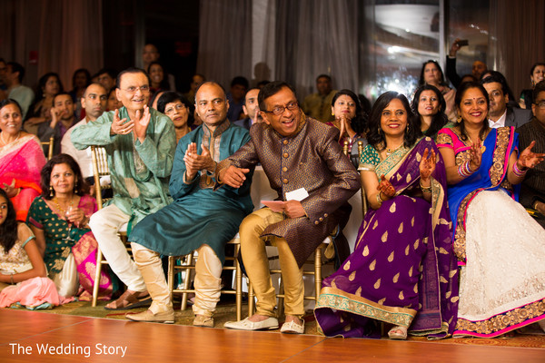 Sangeet in Cambridge, MA Indian Wedding by The Wedding Story