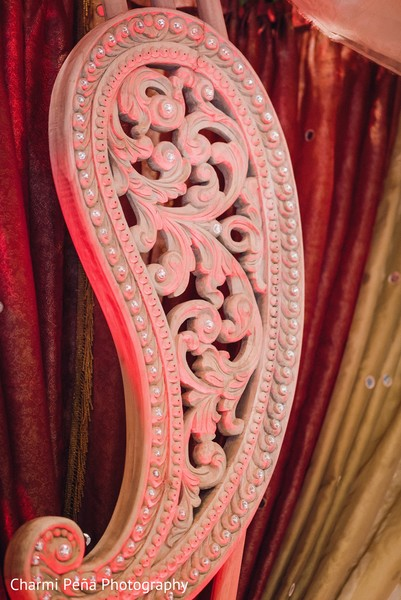 Ceremony decor in Springfield, PA South Asian Wedding by Charmi Pena Photography