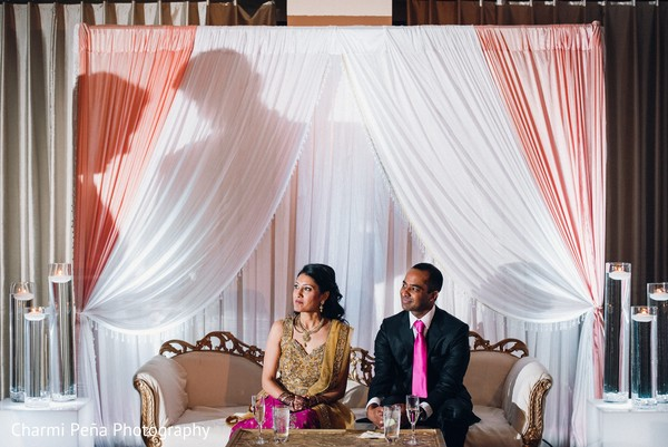 Reception in Springfield, PA South Asian Wedding by Charmi Pena Photography