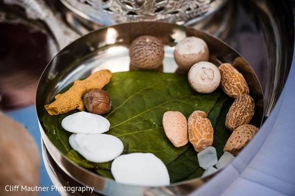 Ceremony Details in Hamilton Township, NJ South Indian Fusion Wedding by Cliff Mautner Photography