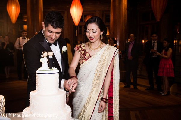 Reception in Hamilton Township, NJ South Indian Fusion Wedding by Cliff Mautner Photography