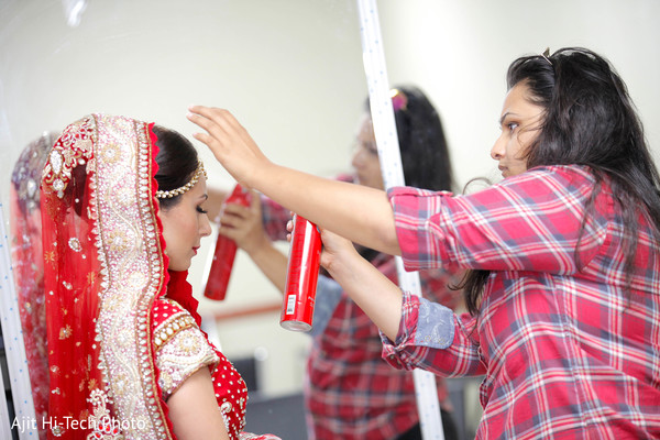 Getting ready in New York, NY Sikh Wedding by Ajit Hi-Tech Photo & Video Production