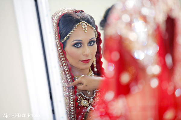 Hair and makeup in New York, NY Sikh Wedding by Ajit Hi-Tech Photo & Video Production
