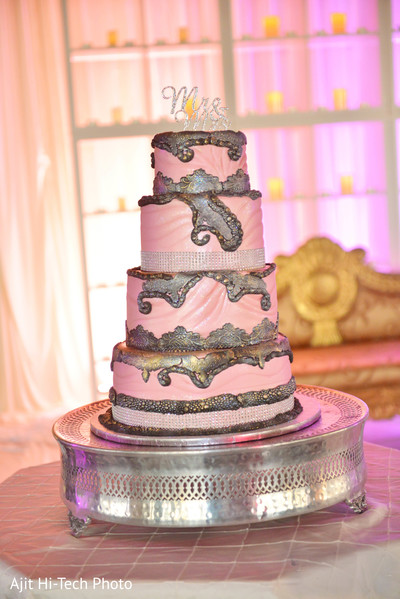 Wedding cake in New York, NY Sikh Wedding by Ajit Hi-Tech Photo & Video Production