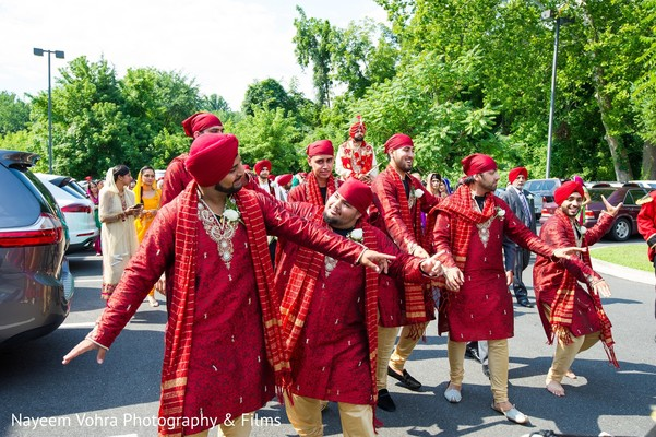 Baraat in Pine Hill, NJ Sikh Wedding by Nayeem Vohra Photography & Films