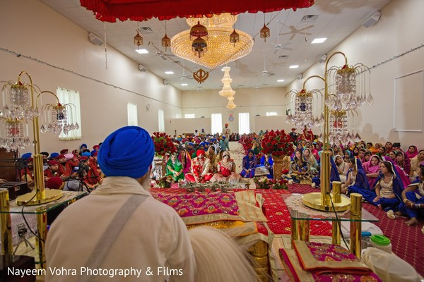 Ceremony in Pine Hill, NJ Sikh Wedding by Nayeem Vohra Photography & Films