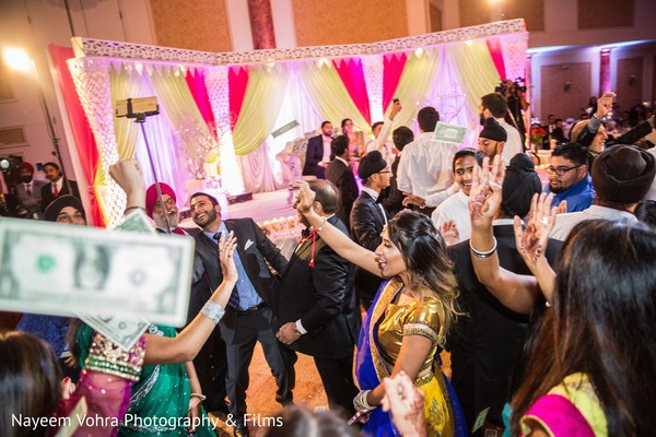 Reception in Pine Hill, NJ Sikh Wedding by Nayeem Vohra Photography & Films