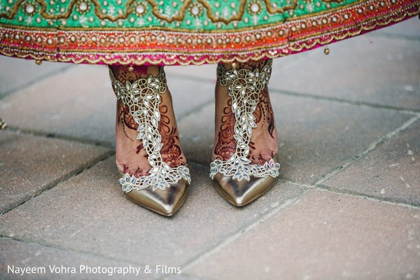 Reception heels in Pine Hill, NJ Sikh Wedding by Nayeem Vohra Photography & Films