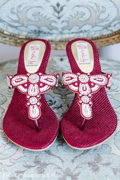 Shoes in Houston, TX Indian-Chinese Fusion Wedding by EVOKE Photography & Video