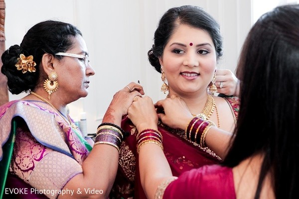 Getting Ready in Houston, TX Indian-Chinese Fusion Wedding by EVOKE Photography & Video