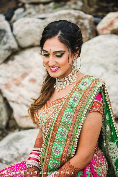 Bridal portrait in Pine Hill, NJ Sikh Wedding by Nayeem Vohra Photography & Films