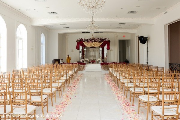 Venue in Houston, TX Indian-Chinese Fusion Wedding by EVOKE Photography & Video