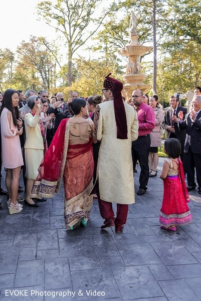 Baraat in Houston, TX Indian-Chinese Fusion Wedding by EVOKE Photography & Video