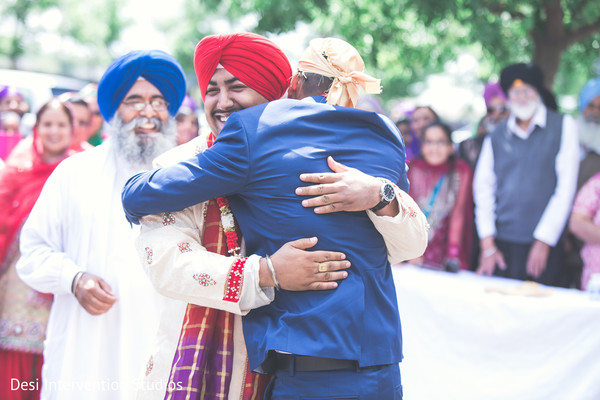 Baraat in Livingston, CA Sikh Wedding by Desi Intervention Studios
