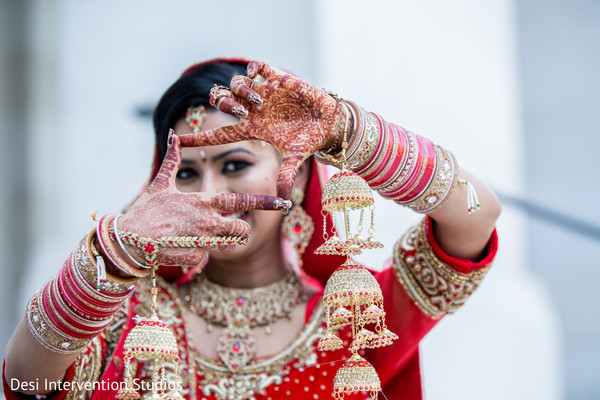 Indian bride in Livingston, CA Sikh Wedding by Desi Intervention Studios