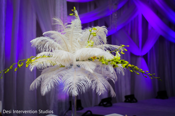 Reception floral and decor in Livingston, CA Sikh Wedding by Desi Intervention Studios