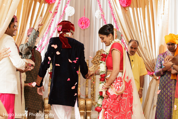 Ceremony in Park Ridge, NJ Indian Wedding by Hugo Juarez Photography