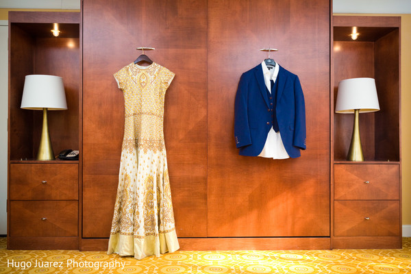 Reception Fashion in Park Ridge, NJ Indian Wedding by Hugo Juarez Photography
