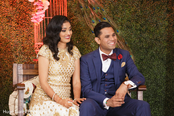 Reception in Park Ridge, NJ Indian Wedding by Hugo Juarez Photography