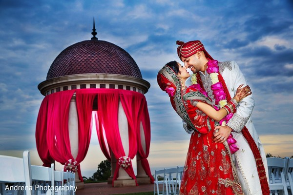 Photo in Newport Coast, CA Indian Wedding by Andrena Photography