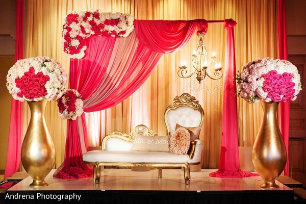 Sweetheart stage in Newport Coast, CA Indian Wedding by Andrena Photography