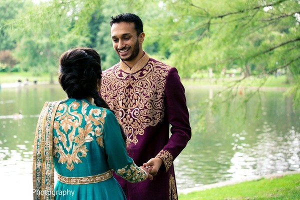 Sangeet Portraits in Boston, MA Indian Wedding by Allegro Photography