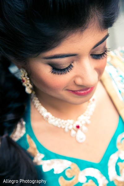 Makeup in Boston, MA Indian Wedding by Allegro Photography