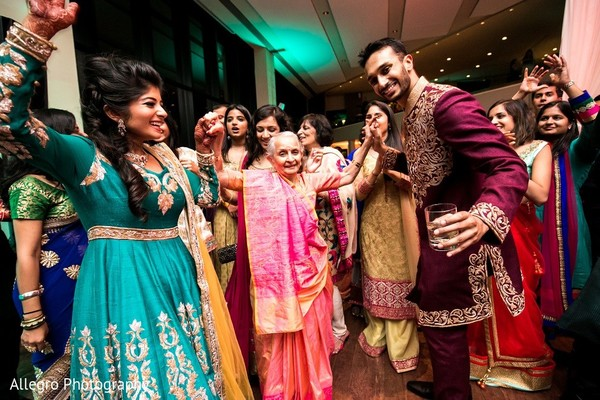 Sangeet in Boston, MA Indian Wedding by Allegro Photography