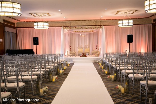 Venue in Boston, MA Indian Wedding by Allegro Photography