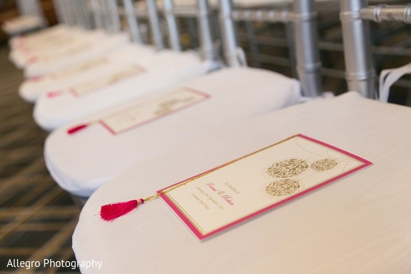 Stationery in Boston, MA Indian Wedding by Allegro Photography