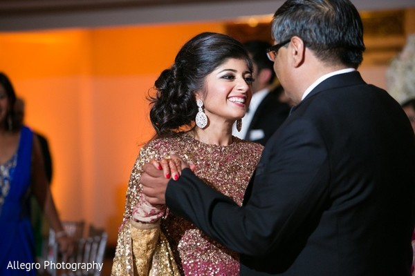 Reception in Boston, MA Indian Wedding by Allegro Photography