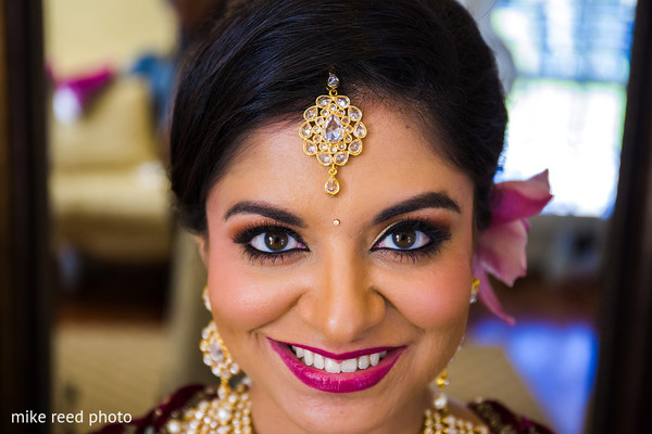 Makeup in New Braunfels, TX Indian Fusion Wedding by Mike Reed Photo