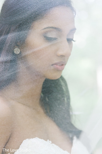 Bridal Portrait in Toronto, Ontario Indian Wedding by The Love Studio