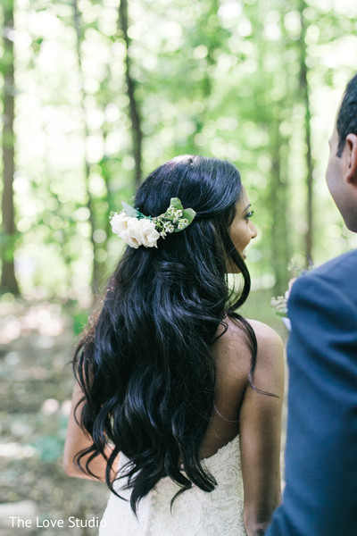 Hair in Toronto, Ontario Indian Wedding by The Love Studio